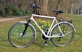 das Einsatz-Bike.