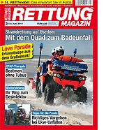 Die neue Ausgabe des Rettungs-Magazins.