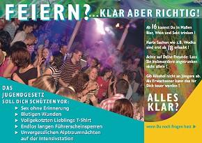 Infokarte für Jugendliche (Bild: Jugendamt Landkreis Oldenburg)