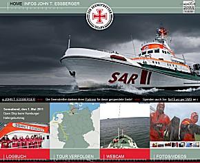 Sonderwebseite der Seenotkreuzer-Überführung nach Speyer