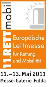 Logo der 11. RETTmobil.