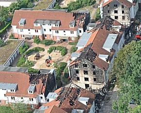 Luftbild der Bremer Straße (Foto: Polizei)