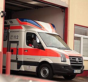 Rettungswagen der Johanniter in Hildesheim (Foto: JUH)