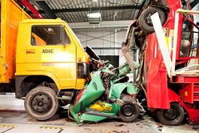 ADAC LKW Crashtest (Foto: ADAC)