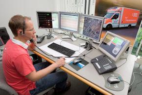 Telenotarzt bei der Arbeit. Foto: RWTH Aachen