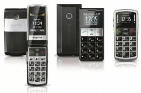 Die drei neuen von emporia Telecom (v.l.n.r.): emporiaCLICK, emporiaRL2 und emporiaTALKcomfort