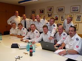 Malteser des Offizialbezirks Oldenburg bereiten ihren Papsteinsatz vor. (Foto: Malteser)