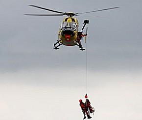 ADAC Rettungswindentraining für die DLR (Foto: DLR)