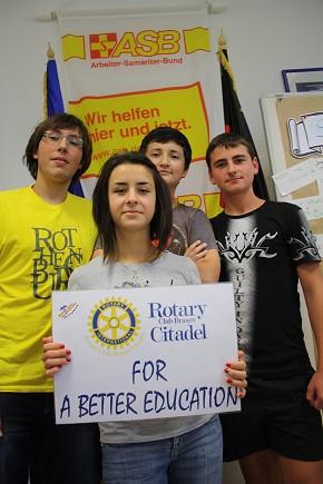 Rumänische Jugendliche ließen sich zu Junior-Trainern weiterbilden. (Foto: Moritz Wohlrab)