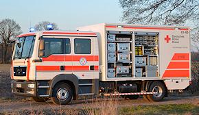 GW San des DRK-Kreisverbands Oldenburg-Land. Foto: Michael Rüffer