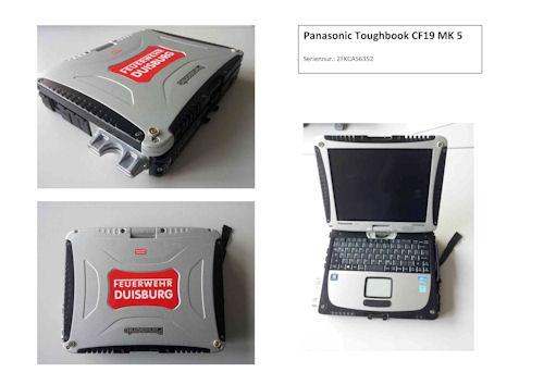 Ein solches Notebook wurde in Duisburg entwendet. Foto: Polizei