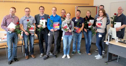 Im DRK-Bildungszentrum Düsseldorf haben die ersten neuen Studiengänge für Mitarbeiter im Rettungsdienst begonnen.