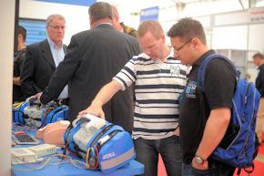 25.250 Besucher kamen zur 14. RETTmobil. Foto: Messe Fulda GmbH