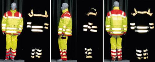 Bodylanguage-Konzept sorgt für Sicherheit im Dunkeln. Foto: 3M