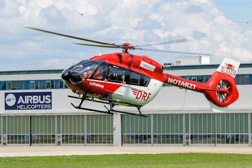 Erste EC 145 T2 geht an die DRF Luftrettung. Foto Airbus Helicopters