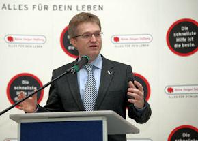 Pierre-Enric Steiger, Präsident der Björn-Steiger-Stiftung, hüllt sich zu den China-Plänen in Schweigen. Foto: BSS