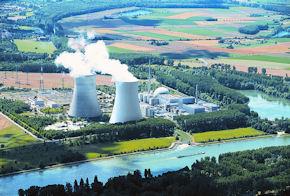 In Baden-Württemberg gelten die Empfehlungen u.a. für die Umgebung des Kernkraftwerks in Philippsburg. Foto: EnBW
