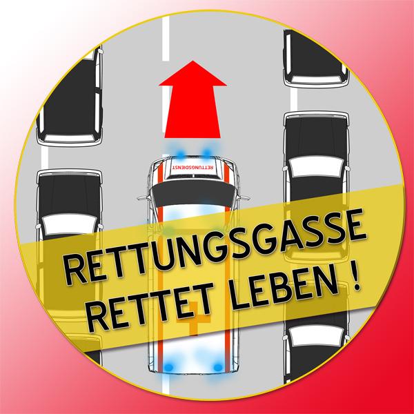 Rettungsgasse_Logo_Kampagne Rettungsgasse rettet Leben