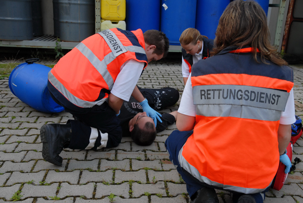 Symbolbild Rettungsdienst. Foto: Markus Brändli