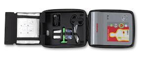 Medconcept stellt in Fulda zwei AED-Geräte von Telefunken vor.