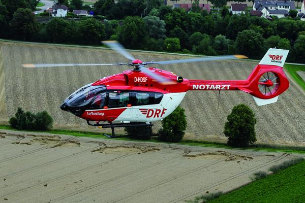 Symbolbild RTH. Foto: DRF Luftrettung