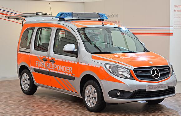 Das Vorbild: Mercedes Citan 109 CDI mit Mosolf-Ausbau. Foto: Michael Rüffer