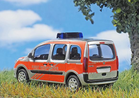 In 87-facher Verkleinerung: H0-Modell von Busch: Foto: Michael Rüffer