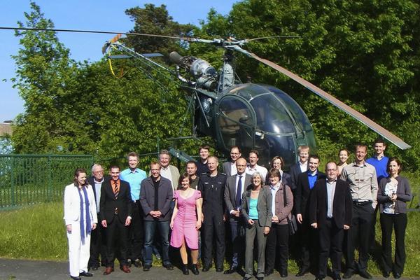 Das PrimAir Projekt-Team. Foto: Institut für Notfallmedizin und Medizinmanagement (INM)
