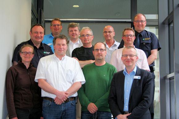 Die Teilnehmer an der Sitzung in Rheine.