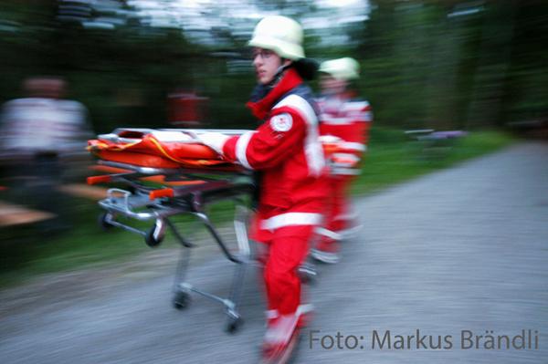 Symbolbild Notfallsanitäter. Foto: Markus Brändli