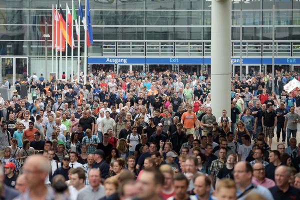 In den sechs Tagen begeisterte die Messe 157 000 Besucher aus allen Teilen der Welt. Foto: Deutsche Messe AG