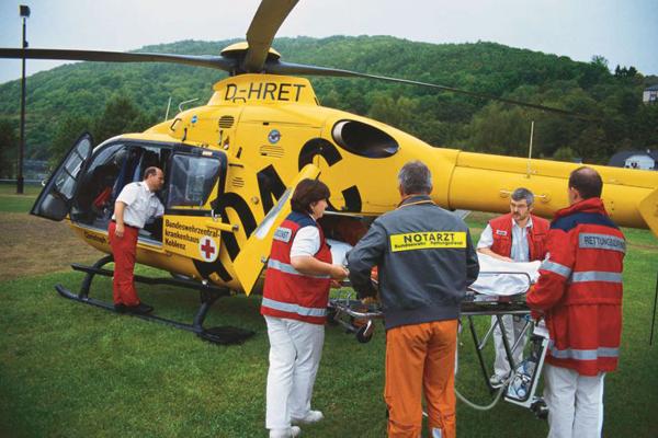 Symbolbild Rettungshubschrauber. Foto: ADAC Luftrettung