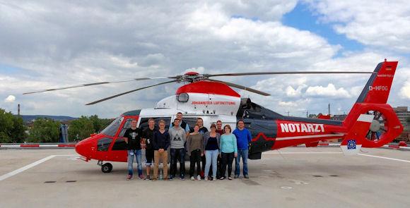 Ausflug zum Luftrettungszentrum nach Gießen. Foto: Stefanie Hahl