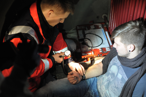 shooting füer RettMag Thema Stromausfall