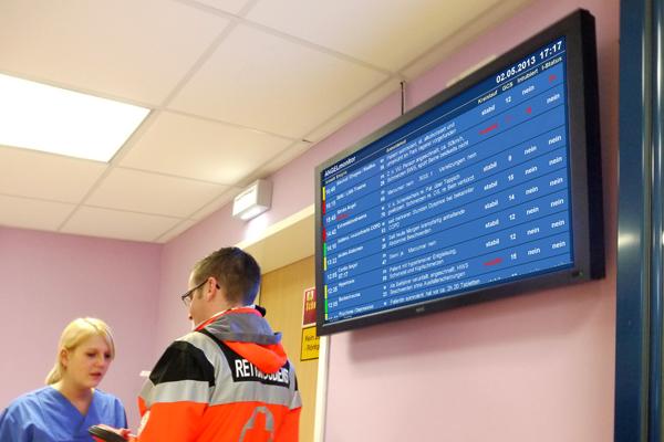 IVENA soll Rettungsdienst und Krankenhäuser besser vernetzen. Symbolfoto: Brändli