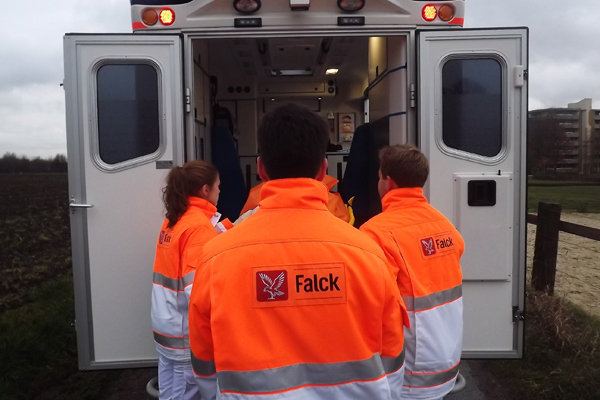Falck wird künftig für den Rettungsdienst im Vogtlandkreis zuständig sein. Foto: Falck