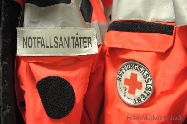 Die Einführung des Notfallsanitäter hat auch Auswirkungen auf das Ehrenamt. Foto: Markus Brändli