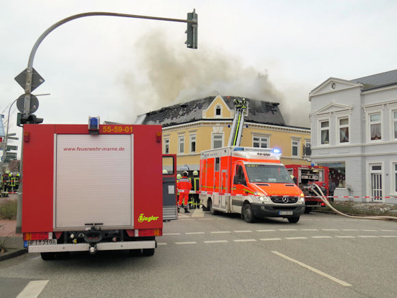 Feuer in Marne-RKiSH