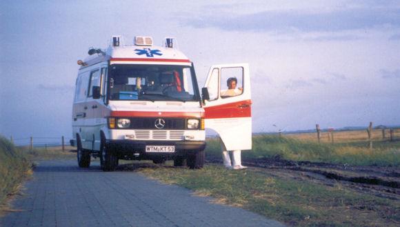 1992 übernahm MKT den Rettungsdienst auf Langeoog.