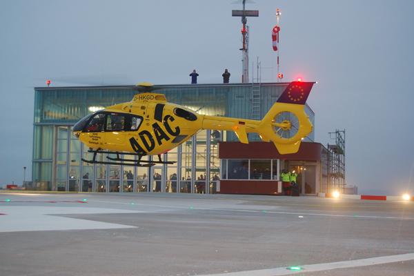 """Christoph 40"" im Landeanflug. Foto: ADAC Luftrettung"