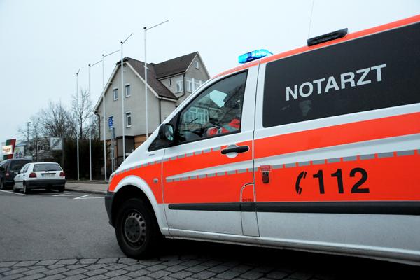 Polizei stoppte falschen Notarzt. Symbolfoto: Markus Brändli