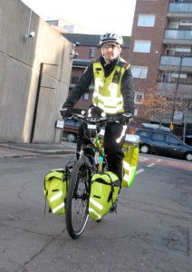Rettungsdienst London Biker