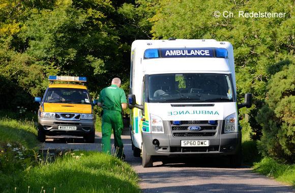 Rettungsdienst Schottland