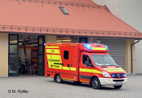 In München musste der Rettungsdienst zu einem Straßenbahnunfall ausrücken. Symbolfoto: Michael Rüffer