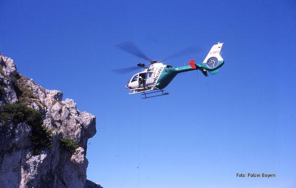 Polizei Bayern Hubschrauber