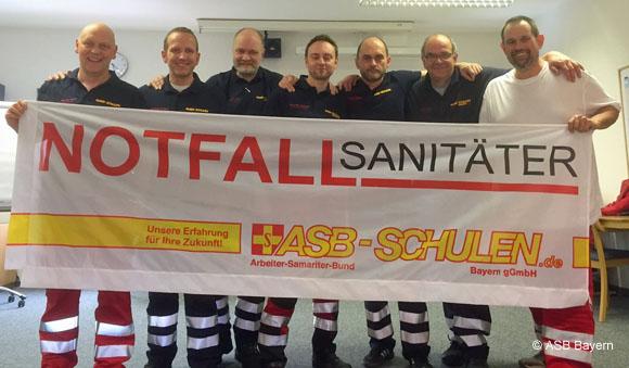 ASB Bayern Notfallsanitaeter_580