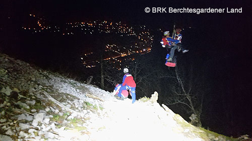 BRK_Bergwacht_Einsatz_Bergnot_Rettung