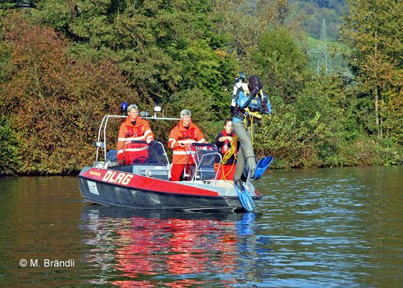 DLRG Wasserrettung Taucher Rettungstaucher Tauchunfall
