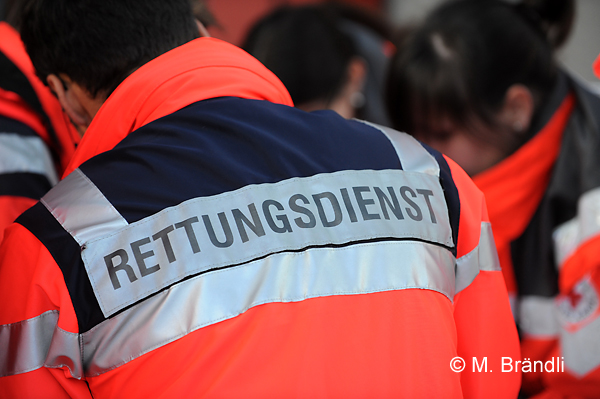 In Hessen will das DRK den Rettungsdienst mit Hilfe einer Patienten-Befragung optimieren. Symbolfoto: Markus Brändli
