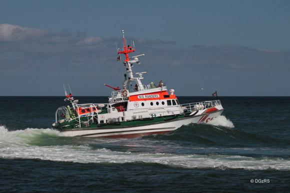 Seenotrettungskreuzer NIS RANDERS, Station Maasholm